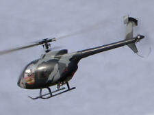 Hughes 500 E -Rumpf für 400er RC-Hubschrauber