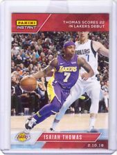 2017-18 Panini Instant #94 Isaiah Thomas Card in Lakers Jersey - Only 45 made!