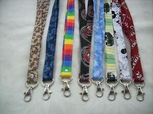 Handmade Lanyards ID holder keys