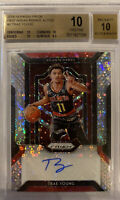 ROOKIE! 2018-19 Trae Young Prizm Fast Break! (Auto/ RC) BGS 10/10! POP2! 📈🔥