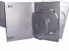 """5/8"""" 14 mm Double DVD Case Movie Box WITH Swing Tray 3 PACK NEW NICE QUALITY"""