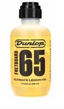 Jim Dunlop 6554 Dunlop Ultimate Lemon Oil, Guitar Polish 4 oz.