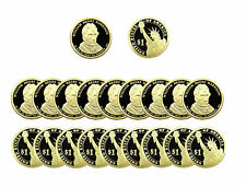 2009 S William Henry Harrison Presidential Dollar Deep Cameo PROOF 20 Coin ROLL
