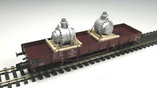 DUHA Ladegut Spur H0 11568 - 2 x Getriebe auf Palette verspannt