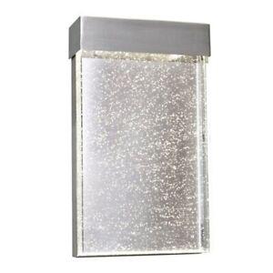 Maxim Lighting Moda LED Outdoor Wall Sconce, Stainless Steel - 88272BGSST