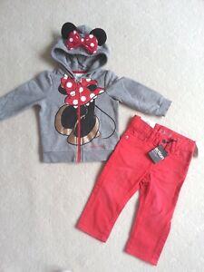 BNWT Baby GAP Jeans & AS NEW Minnie Hoodies -> Size 1 (12-18m)