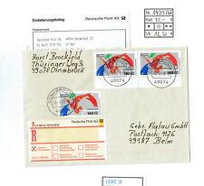 (E2431) Bund Nr.1409 MeF herrliche Mehrfachfrankatur