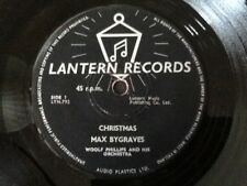 "MAX BYGRAVES . WHITE CHRISTMAS / CHRISTMAS . Rare 7"" Vinyl Single"