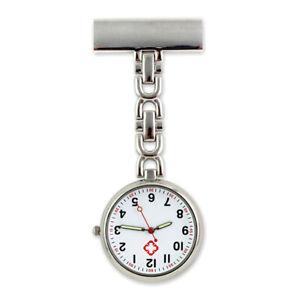 Nurse Watch Pocket Quartz Watch Brooch Pin Doctor Medical Best Gift