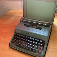 Olivetti Lettera32 Vintage Typewriter With Case Working From Japan