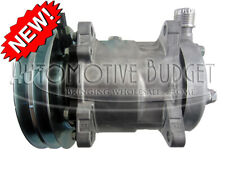 A/C Compressor w/Clutch for Ford/New Holland L218 & L220 Skidsteer - NEW