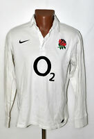 ENGLAND NATIONAL TEAM 2000`S RUGBY UNION HOME SHIRT JERSEY NIKE SIZE M ADULT