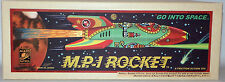 TIN PLATE : M.P.1 ROCKET TIN PLATE MODEL MADE BY ROCKET USA - MADE IN JAPAN