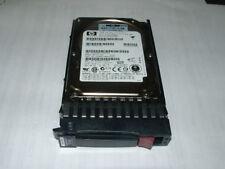 """HP 72gb 10k SAS 2.5"""" Hard Drive with Tray __ 376597-001"""