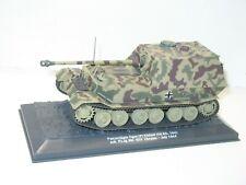 Grand tank militaire 1/43, char allemand TIGER ELEFANT  altaya 1/43