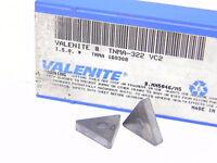 NEW SURPLUS 10PCS. VALENITE  TNMA 322  GRADE: VC2  CARBIDE INSERTS