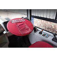 "Steering Wheel Cover Red Elastic""Do not Move, Do not Start"".Used for maintenance"