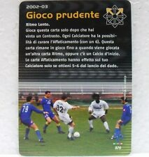 FOOTBALL CHAMPIONS Italiano 2002-03 - GIOCO PRUDENTE - carta azione A76-VIERI