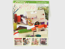 Simplicity Deluxe Rotary Cutter Embosser Deluxe Bias Piping Craft Project Book