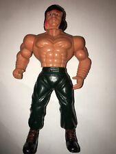 Vintage 80'S John Rambo bootleg KO MOTU Adventure Man action figure M-force