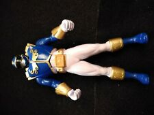 "Power Ranger Megaforce Altra Chest Armor Blue Ranger 6.5"" Action Figure 2013"