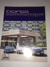 Corsa Communique Magazine Early Corvair Clubs July 2006 033117NONRH