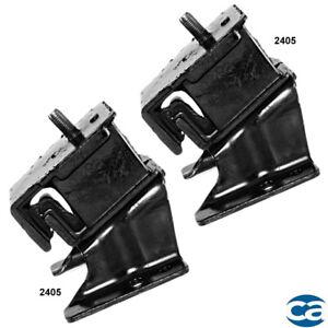 For 77-79 Front Right & Left Engine Mounts 2Pcs Set for Nissan/Datsun 200SX 2.0L