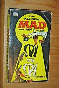 THE ALL NEW MAD SECRET FILE SPY VS SPY by ANTONIO PROHIAS. - PAPERBACK, 1965