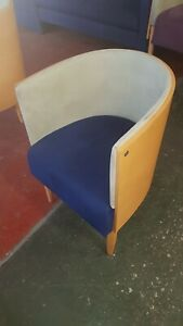 Allermuir Tub Chairs - 10 in total