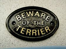Handmade Dog Warning Signs