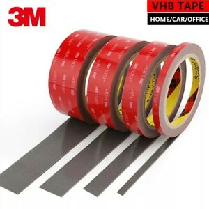 3M VHB DOUBLE SIDED TAPE ROLL VERY STRONG SELF ADHESIVE STICKY TAPE  GREY