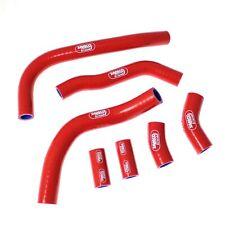 Honda CRF 450 R OEM Design | Red Samco Sport Silicone Radiator Hose Kit