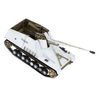 1/72 Diecast Sd.kfz.164 Nashorn 1944 Tank  Hornisse WWII Army Model