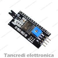 IIC / I2C ADATTATORE INTERFACCIA SERIALE 1602 MODULO LCD DISPLAY I2C IIC