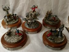 Hudson Pewter DISNEY FANTASIA Sorcerer Mickey LE Collection - Complete Set of 5