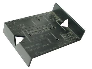 Concealed Hinge & Mounting Plate Drilling Jig - 26mm & 35mm Cup Template