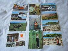 11 x  Vintage Jersey Channel Islands  Colour Photographic  Postcards -Free P&P
