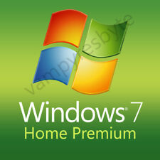 Microsoft Windows 7 Home Premium - 32/64 Bit - IMMEDIATE DELIVERY!