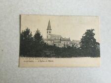 SAINT-AUBIN ( FLORENNES ) 1907    L' EGLISE ET L' ECOLE   D.V.D. 12235