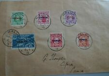SAMOA VERY NICE PHILATELIC COVER DATED APRIL 6, 1915 FROM MALUA TO APIA