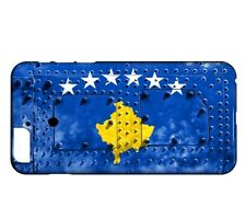 Coque iPhone 8 Drapeau KOSOVO 06