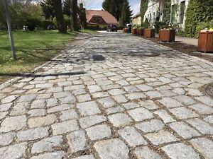 Granit 15 x 19cm  25t Kopfstein Natursteinpflaster Antik