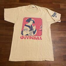 Vintage Nike Geisha Shirt Official Race Committee Cascade Run Off Tee 1980