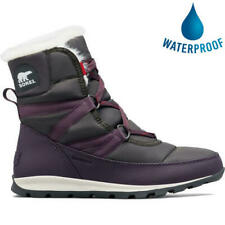 Sorel Whitney Short Lace Womens Ladies Purple Waterproof Warm Snow Winter Boots