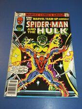 Marvel Team Up Annual #2 Bronze age Spider-man Hulk VF-