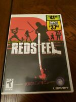 Red Steel Nintendo Wii 2006 video game Ubisoft sword motion control FREE SHIP
