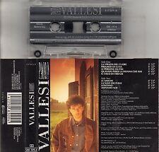PAOLO VALLESI MC7 made in ITALY musicassetta originale  PAOLO VALLESI MC K7 1991