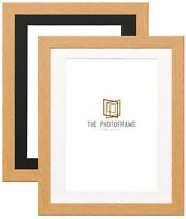 New Oak Picture Frame With Mount Photo Frames Wood Effect Picture Frames Various