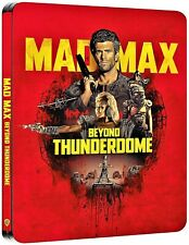 MAD MAX 3: BEYOND THUNDERDOME 4K UHD COLLECTORS STEELBOOK/ IMPORT / PRE-SALE.