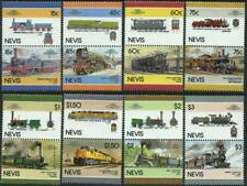 NEVIS - 1986 'RAILWAY LOCOMOTIVES' Series VI Set of 8 MNH SG427-442 [A2937]